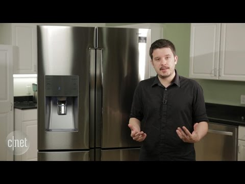 A 4K fridge? This four-door Samsung model might fit the bill