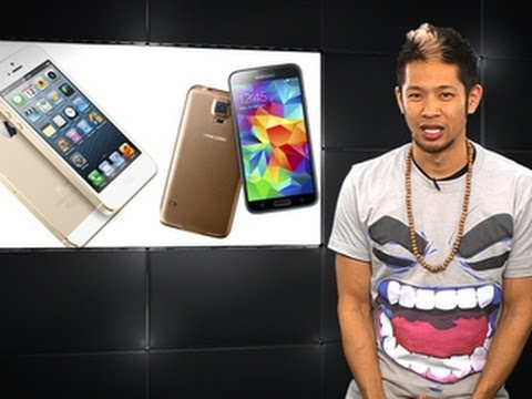 Apple Byte – Should Apple be worried about the Galaxy S5?