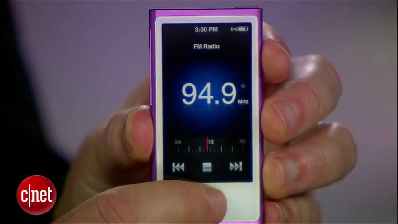 Apple iPod Nano (seventh generation, 2012) series – First Look