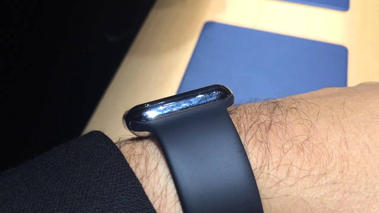 Apple Watch Sport, hands-on