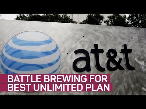 AT&T joins the unlimited plan battle