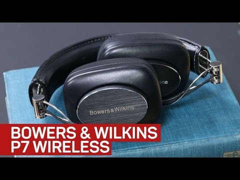Bowers & Wilkins P7 Wireless headphone is dressed to impress