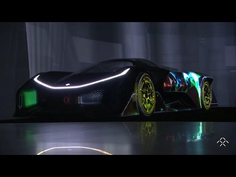 CES 2016 gets weird with fridge screens, far-out supercars, smelly alarms