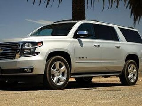 CNET On Cars – 2015 Chevy Suburban: Big, fresh, and tech-laden – Ep. 44