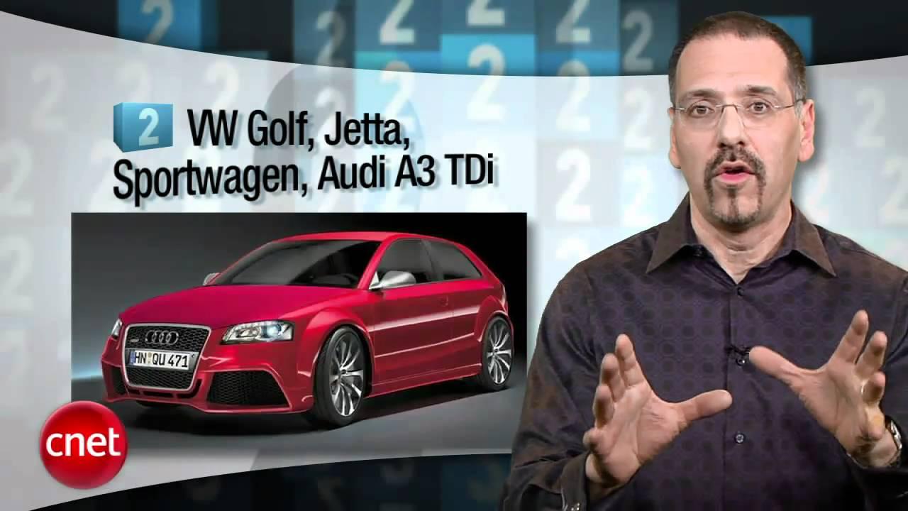 CNET Top 5: Greenest cars – that aren't hybrids