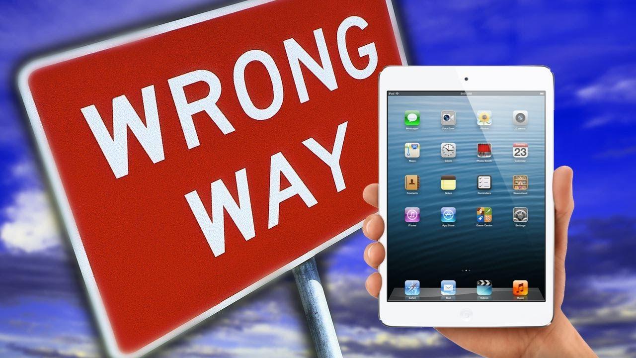 CNET Top 5 – Reasons not to buy an iPad Mini