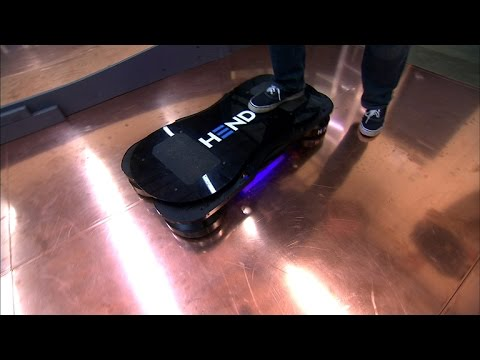 Crave – Taking a spin on a real-life hoverboard