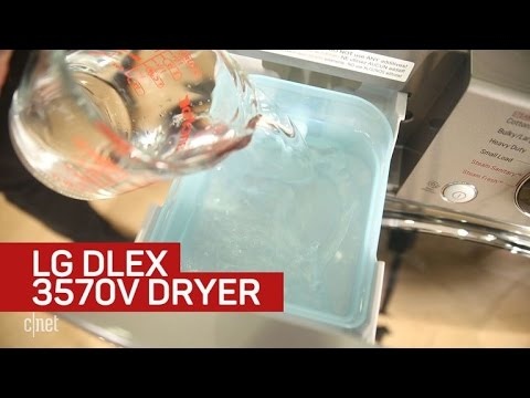 Don't prejudge this speedy LG dryer because it looks ordinary