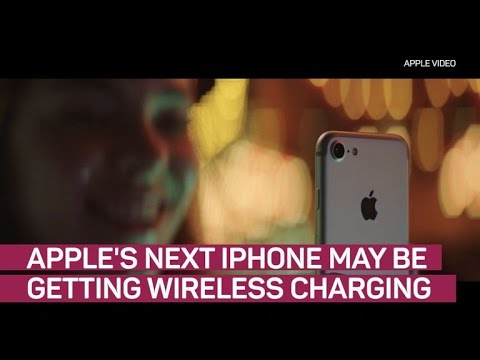 Evidence emerges that iPhone 8 could charge wirelessly