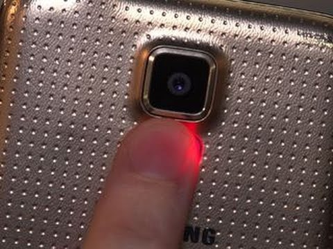 Galaxy S5 fingerprint scanner and heart rate monitor explained