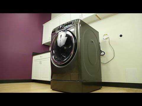 GE's impressive washer will take yours to the cleaners