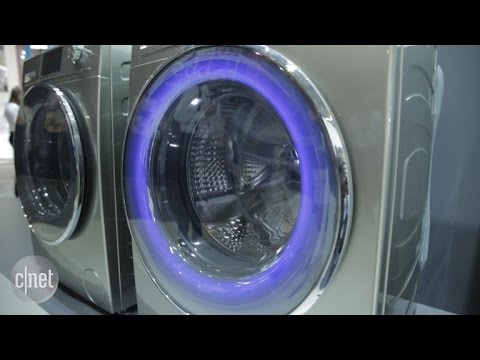 Haier's clever, color-coded smart washer is a laundry luxury