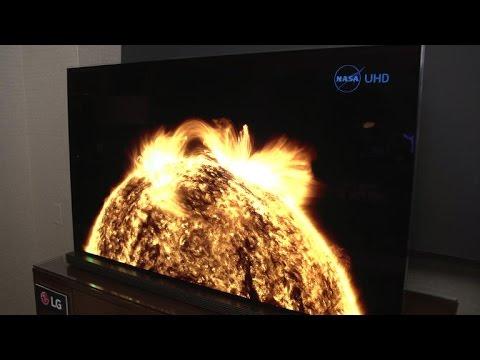 Highest-end LG OLED TV slims down