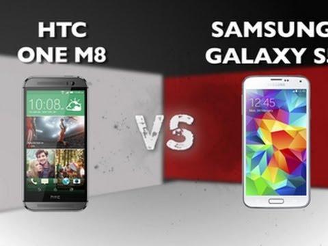 HTC One M8 vs. Samsung Galaxy S5