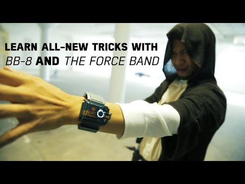 Learn all-new tricks with Sphero's BB-8 and Star Wars Force Band