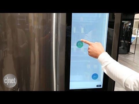 LG strikes back in the smart fridge battle at IFA