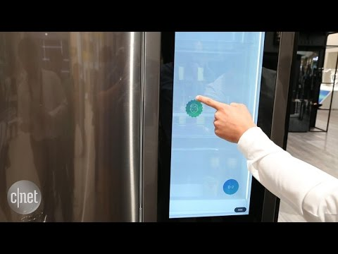 LG strikes back in the smart fridge battle at IFA