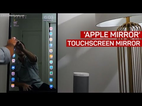 Mirror, mirror on the wall. Display my iPhone big and tall