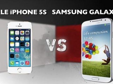 Prizefight – Apple iPhone 5S vs. Samsung Galaxy S4