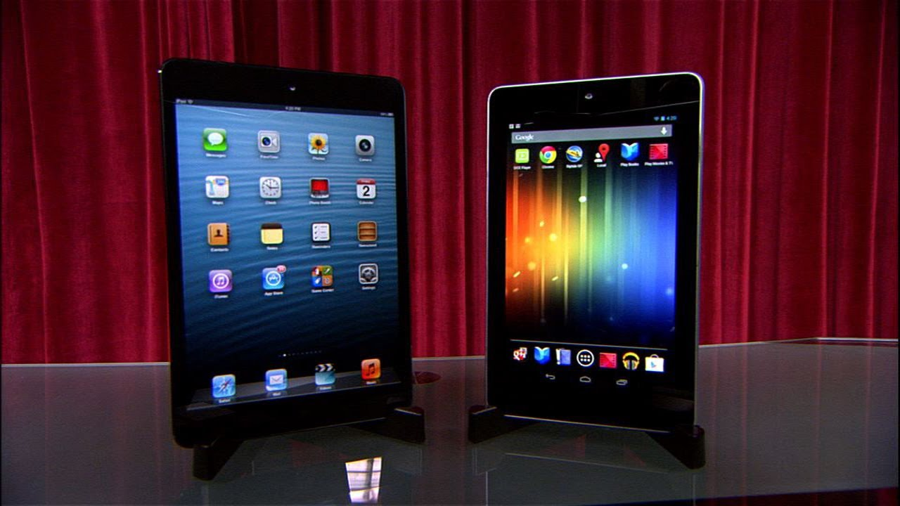 Prizefight – iPad Mini vs. Nexus 7