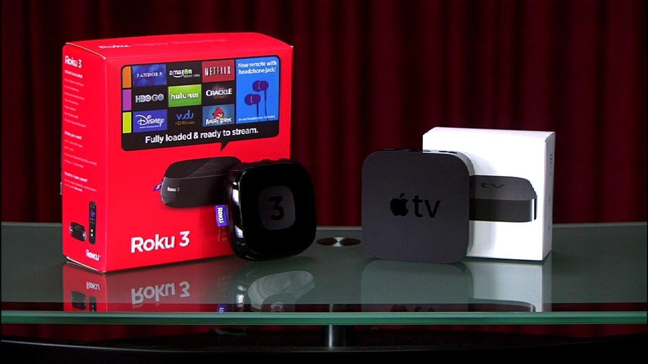 Prizefight – Roku 3 vs. Apple TV (third generation)