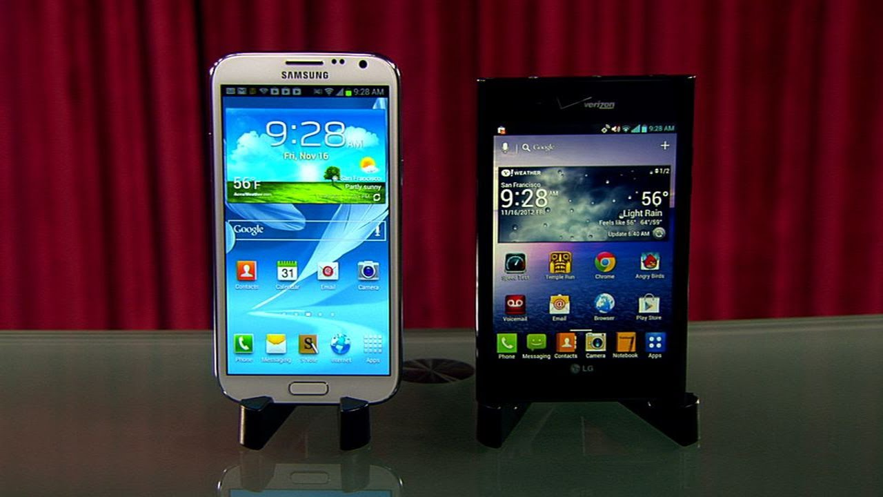 Prizefight – Samsung Galaxy Note 2 vs. LG Intuition