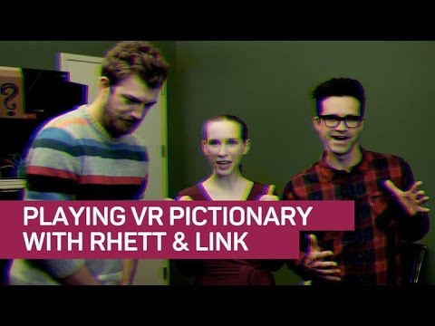 Rhett & Link battle for artistic supremacy — in VR