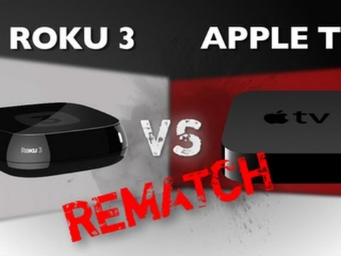 Roku 3 vs. Apple TV (3rd Gen) – Rematch