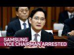 Samsung's leader arrested