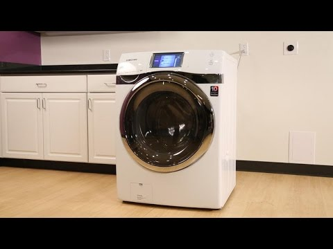 Samsung's smart washer is a pretty quick study