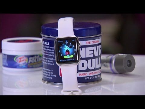 CNET How To – Remove scratches from your Apple Watch
