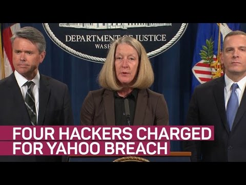 DOJ charges Russian spies with Yahoo hack