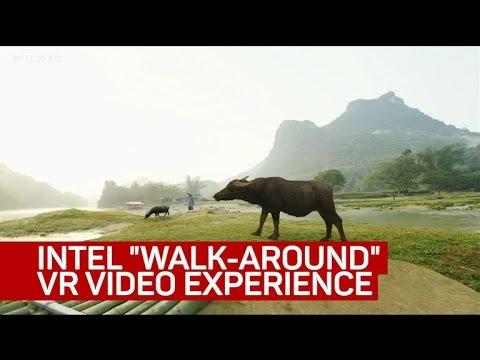 Intel demos world's first 'walk-around' VR video experience