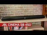 JBL's Cinema SB 450 brings the noise