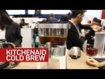 Kitchenaid's compact cold brew gadget is made to live in your fridge