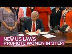 New US laws promote women in STEM