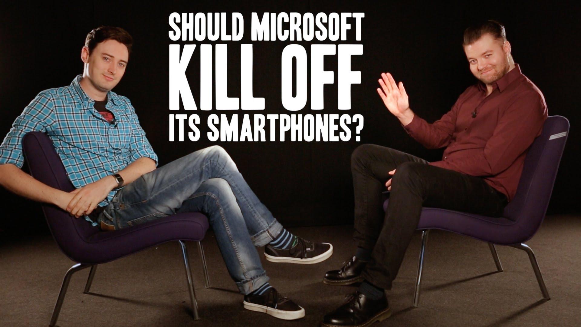 Should Microsoft kill off its smartphones?