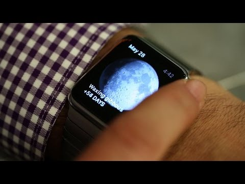 A guided tour of Apple Watch's beautiful clock displays