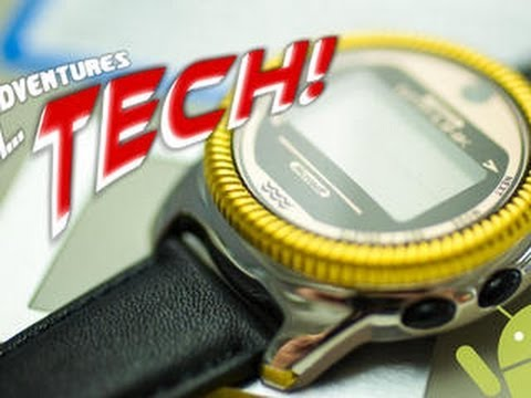 Adventures in Tech – Android Wear's amazing smartwatch ancestors