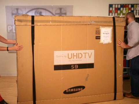Always On – Unboxing the Samsung 85-inch 4K TV
