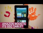 Amazon's $50 tablet gets a boost -- and new colors