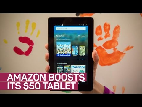 Amazon's $50 tablet gets a boost — and new colors