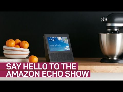 Amazon's new Echo Show packs a 7-inch touchscreen