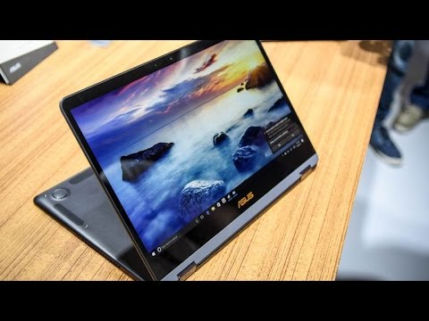 Asus finds its Zen with the world's thinnest convertible laptop
