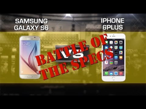 Battle of the Specs — Samsung Galaxy S6 vs. Apple iPhone 6 Plus (CNET Prizefight)