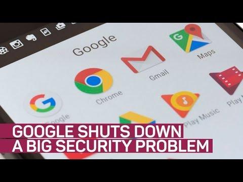 Big Google Drive security problem shut down