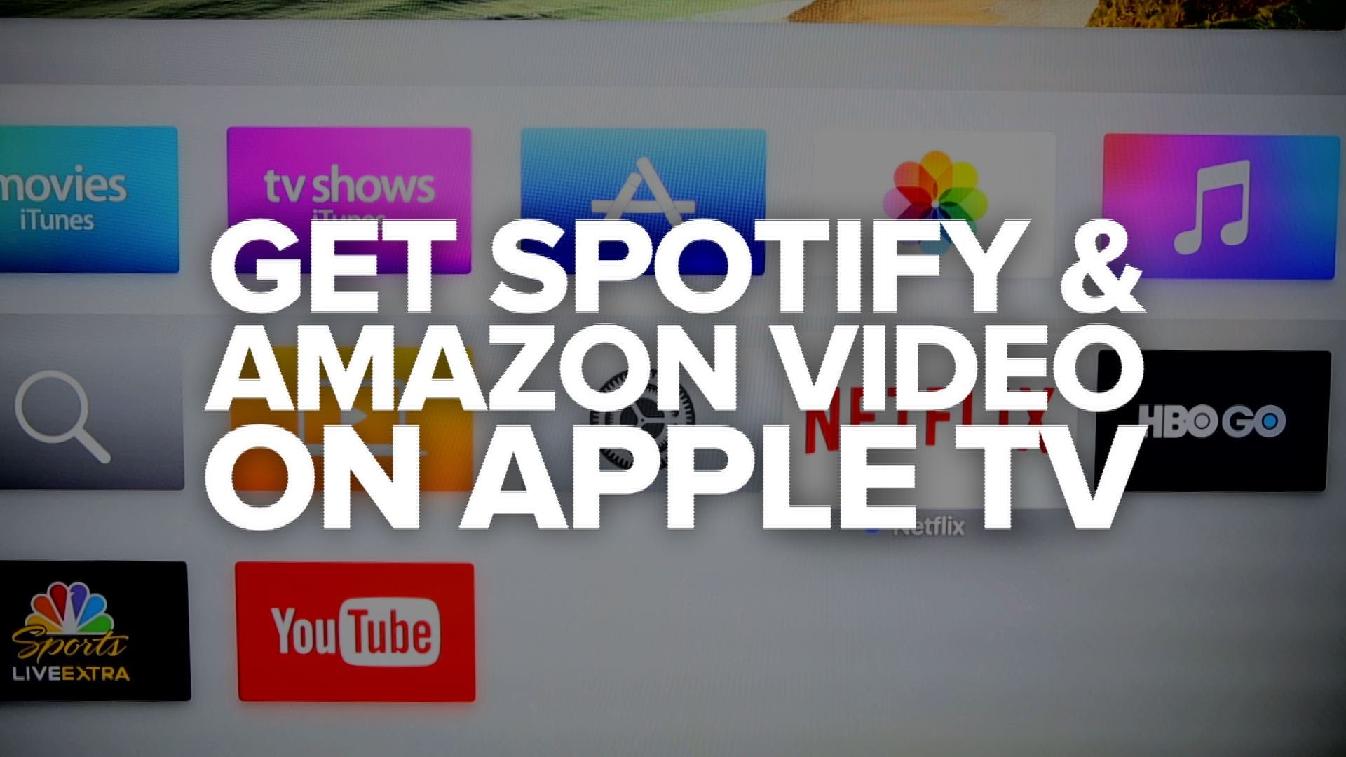CNET How To – An easy way to stream Spotify and Amazon Video to your Apple TV