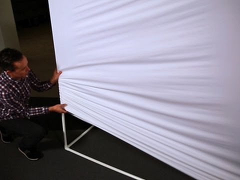 CNET How To – Make a giant projection screen