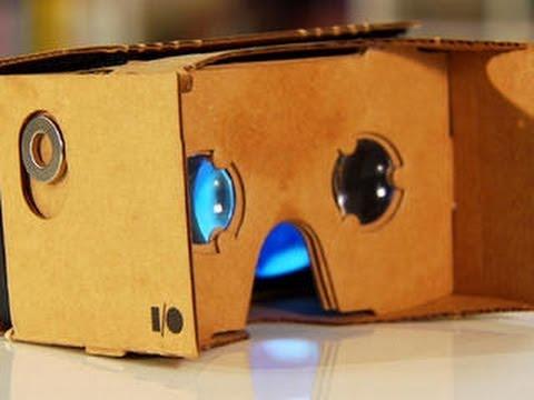 CNET How To – Make Google's Cardboard VR headset