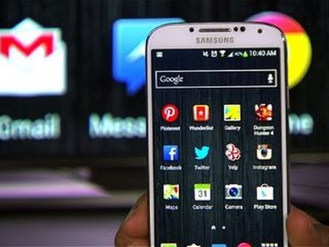 CNET How To – Mirror your Galaxy S4 on your TV